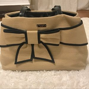 Kate Spade Woven Bow Tote